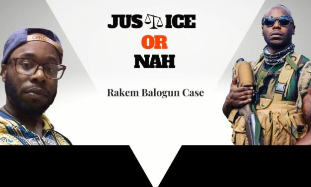 Case Notes: Rakem Balogun